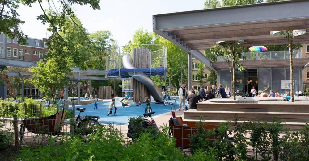 Overall view of playground